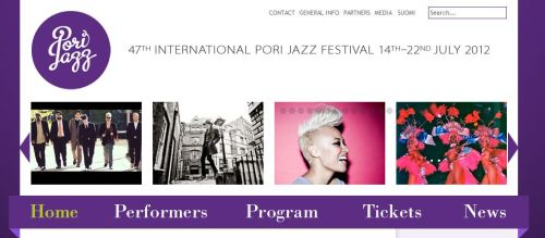 vivanova:  Going to Pori Jazz fest now.  Asa!
