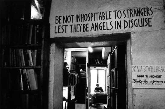 Shakespeare And Company, Paris.