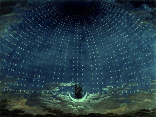 denisforkas:  Karl Friedrich Schinkel - Magic. 1830