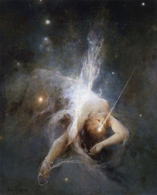 Witold Pruszkowski Falling Star, 1884 oil on canvas