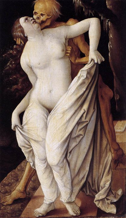 Hans Baldung GRIEN (1484 or 1485-1545) Death and the Maiden