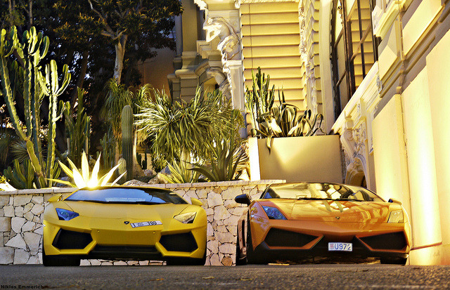amazingcars:  Monaco Nightlife. by Niklas Emmerich Photography on Flickr.
