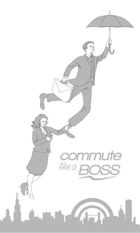 notfspurejam:  Commute Like a Boss by ~WendyWendey