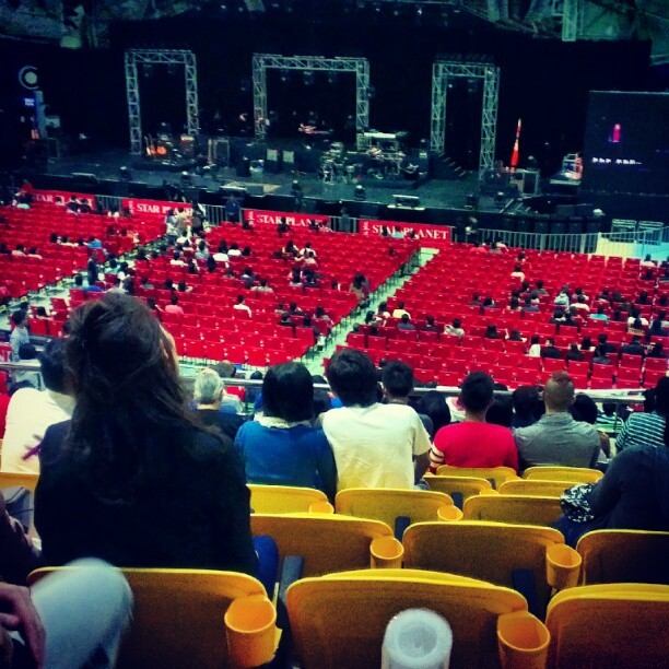 #concert #stadium #khalil  (Taken with Instagram)