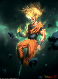 Son Goku by James Zapata