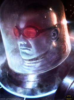 Mr. Freeze by James Zapata