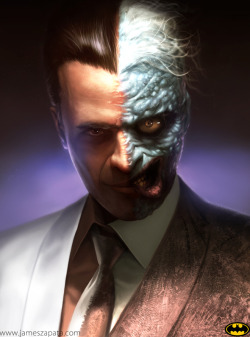 Two Face by James Zapata