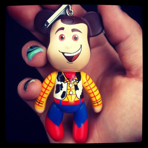 New keyring! :) #woody #toystory #cute #awesome #disney  (Taken with Instagram)
