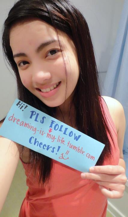 dreaming-is-my-life:  First Fan Sign of my Tumblr URL. (credits to Ms. Anne Llana - a close friend of mine. love you so much! thanks!)