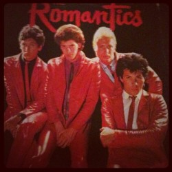 The romantics vinyl record  (Taken with Instagram)