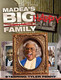 "I am watching Tyler Perry's Madea's Big Happy Family                   ""Let's see if my sister was right about this being a good rainy day  movie :0)""                                Check-in to               Tyler Perry's Madea's Big Happy Family on GetGlue.com"