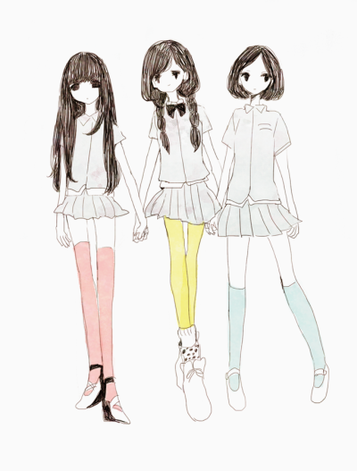 dollieworld:  Look like Perfume <3