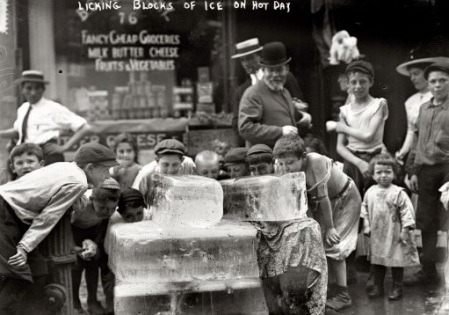 New York's Hot summer 1911
