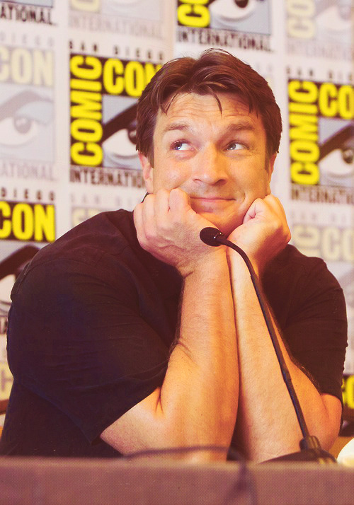 Nathan Fillion at Comic-Con 2012.