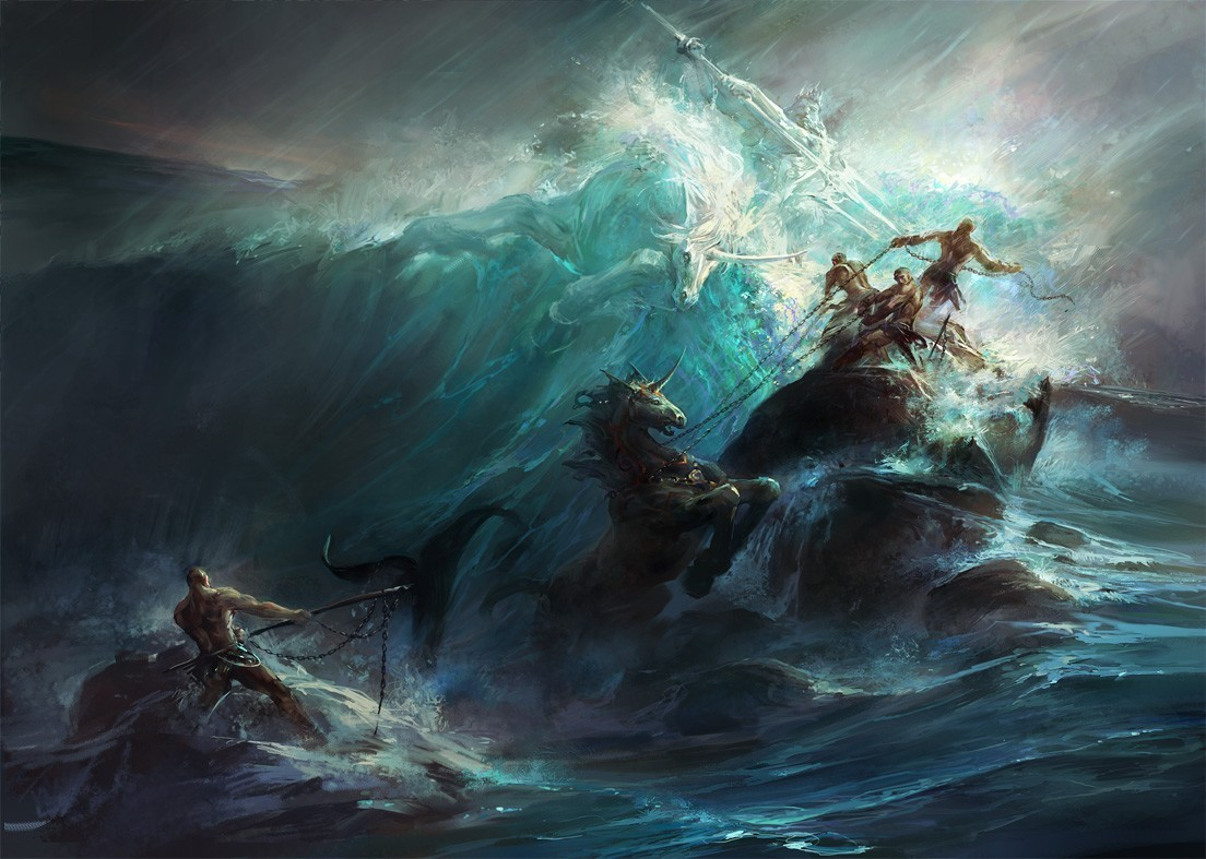 G.Brush,  Poseidon's Wrath