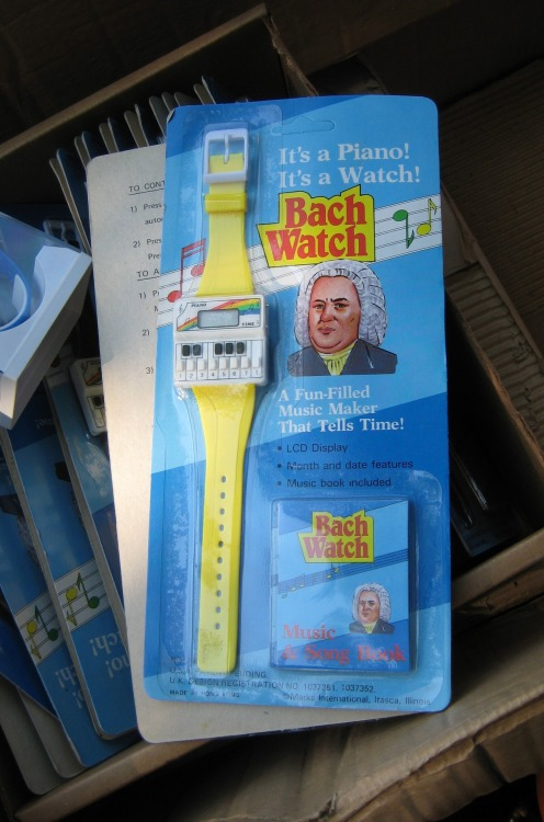 publiccollectors:  Item not purchased from an estate sale: Bach watch.