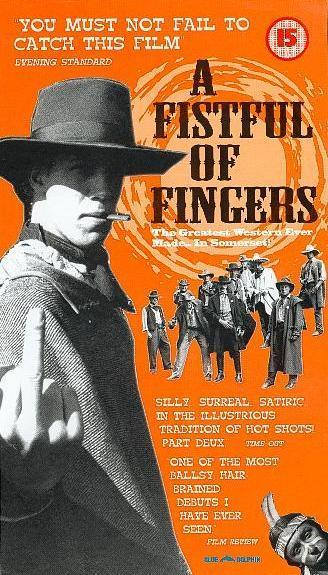 A Fistful of Fingers  An early Edgar Wright movie. It is a spoof of spaghetti westerns with plenty of other references sprinkled in. I will admit some of the jokes are lame, as are the American accents, but it shows that, even then, Edgar had a unique style and vision.