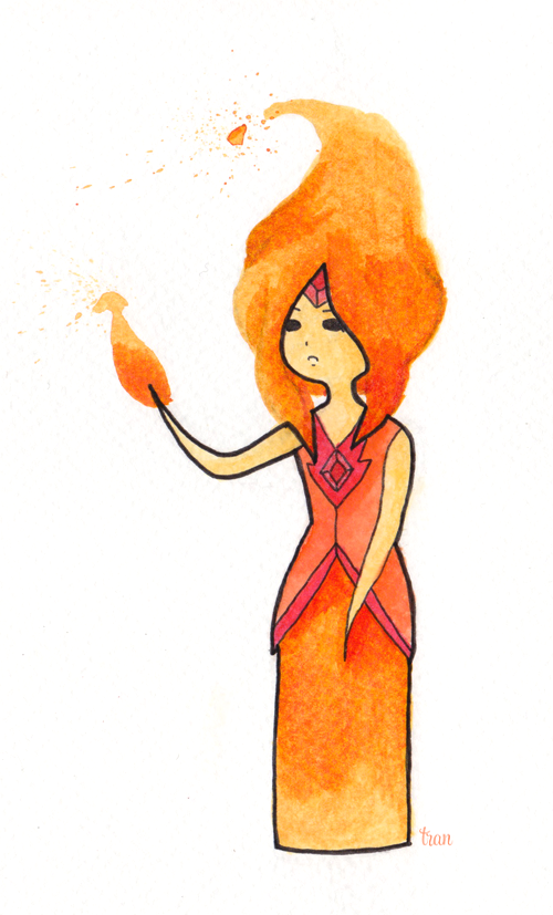teaforyou:  Adventure Time - Flame Princess
