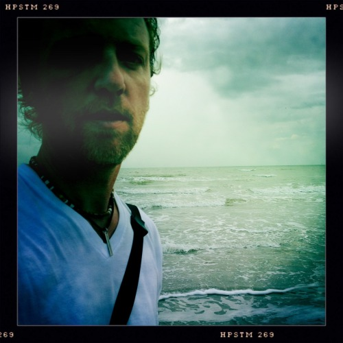 Beach Selfie John S Lens, Pistil Film, No Flash, Taken with Hipstamatic