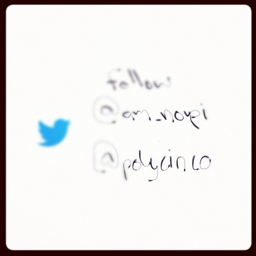Follow (: #twitter #noupi @polycinco #fashion #design #graphicdesign #toys#games #characters #creature #art #stuff (Taken with Instagram)