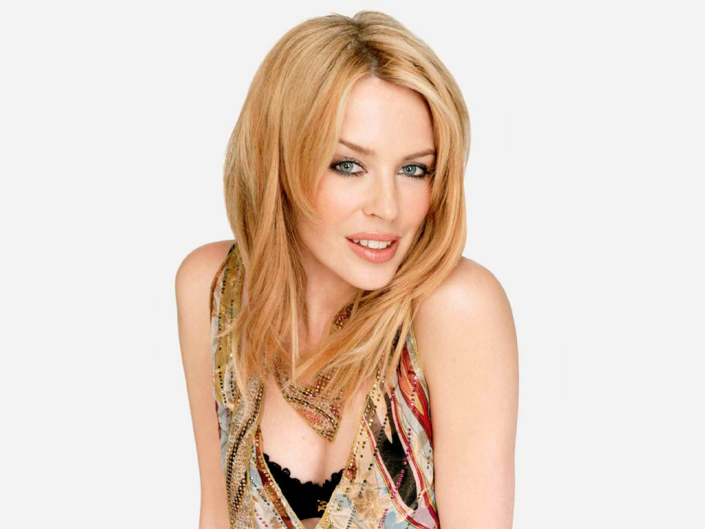 Sexy, beautiful Australian singer and song writer Kylie Minogue.