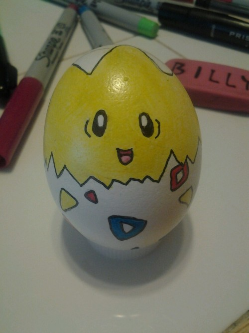 I had to make togepi..hehe