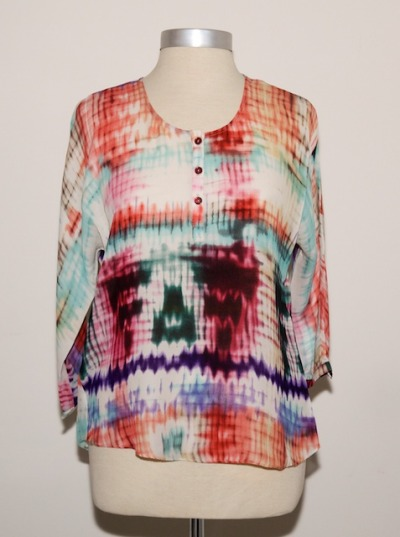 "Just In: PARKER blouse in ""moonstruck"""