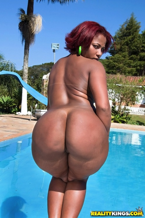 full ass in pool