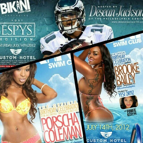 TODAY! The hottest pool party of the year! #BikiniSwimClub at Custom Hotel next to LAX. I PROMISE you do not want to miss this one! Make sure to say FAMOUS at the door for entry!  (Taken with Instagram)