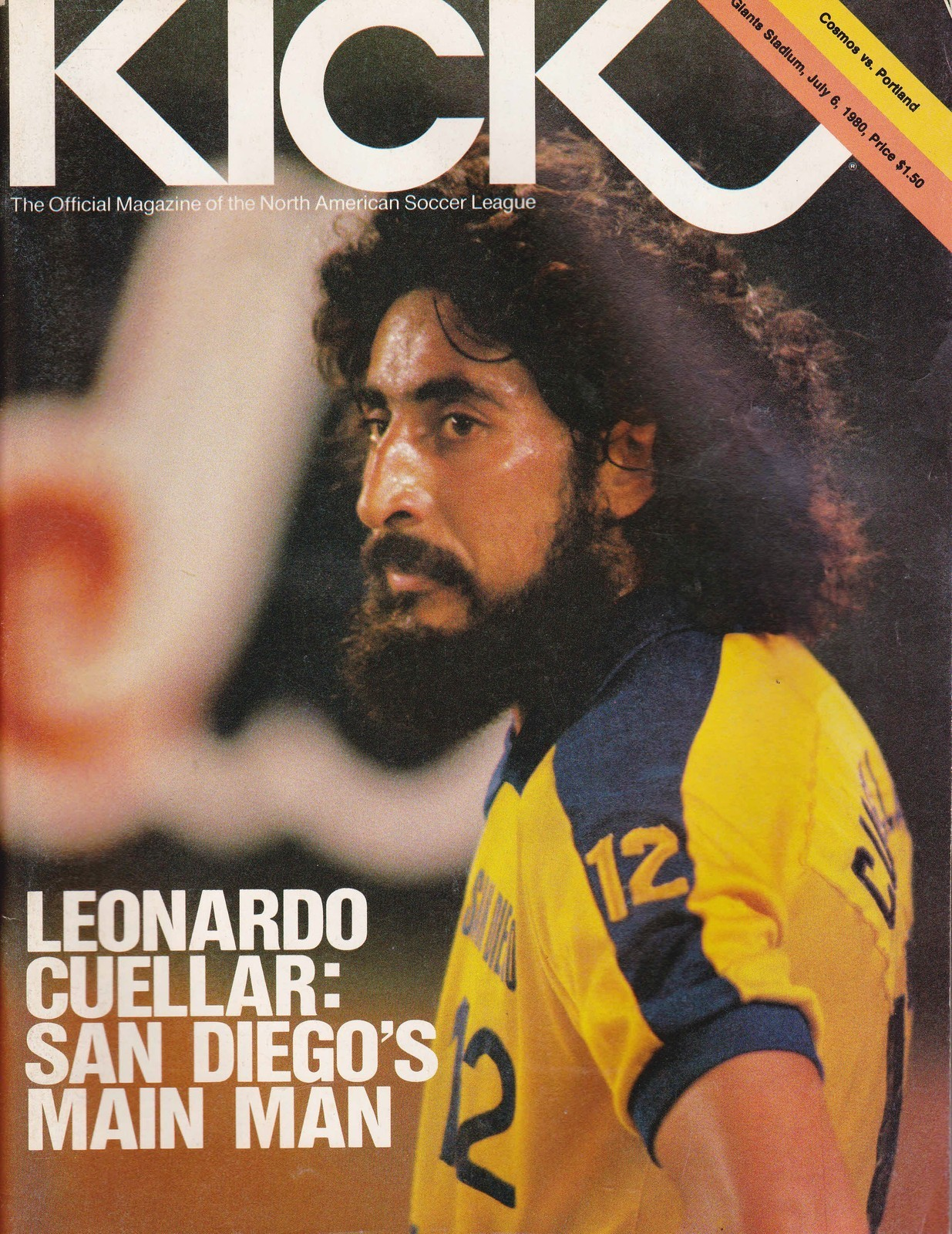 Mexican Leo Cuellar pictured in 1980, a star for the San Diego Sockers in the NASL. Now a dual national of Mexico and the United States, Cuellar is currently the coach of the Mexican women's national team, and in issue one of XI talks to Jeff Kassouf about the future of women's soccer in his native country and his recruitment of Mexican-Americans to play for the team.