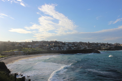 Tamarama Beach - Taken on walk from Coogee Beach to Bondi Beach This walk brought us through some insanely beautiful sights! I'm still pinching myself that I'm actually here. Stay tuned for a link to more photos, or check my Facebook if you haven't already. Shot on Canon T3i - 1/100 f/14.0 - EFS 18-55mm lens