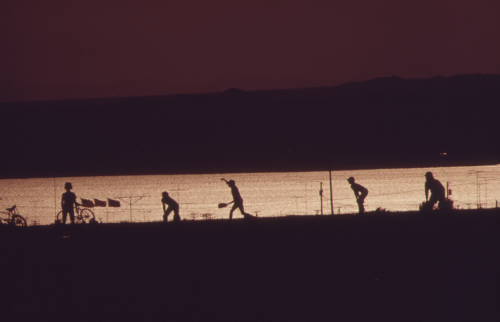Lake Havasu City, Arizona, c. 1972. by Charles O'Rear. (U.S. National Archives)