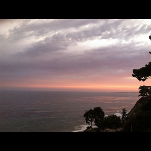 The magnificent Pacific Ocean during sunset in Santa Barbara, CA (Taken with Instagram)