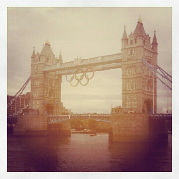 Tower bridge London (Taken with Instagram)