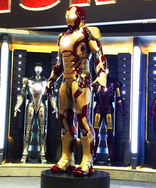 Iron Man's new armor at Comic Con 2012