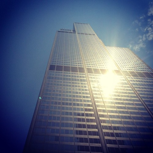 Sears towerrrr (Taken with Instagram at Willis Tower)