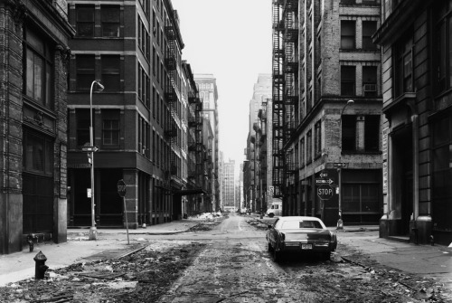 Soho, Manhattan, c. 1977.