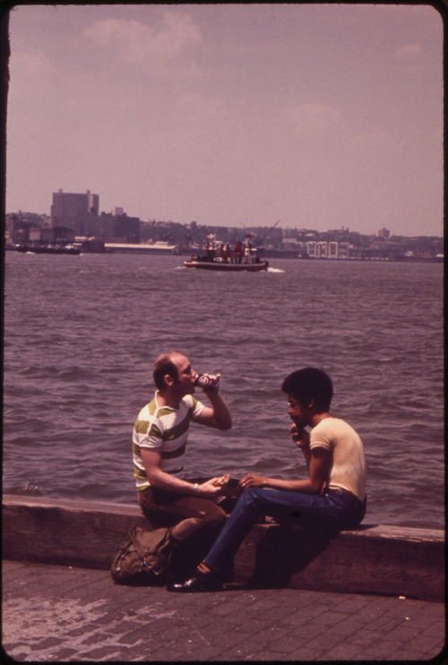 New York City, c. 1973. by Wil Blanche. (U.S. National Archives)