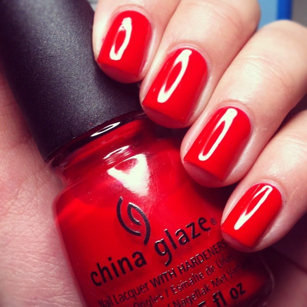 China Glaze // Pointsettia