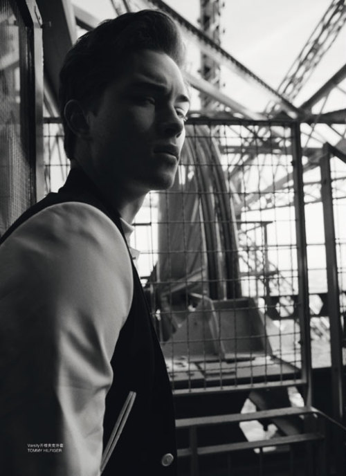 Francisco Lachowski. L'Officiel China Paris Guide Summer 2012. Ph: Philip Neufeldt.