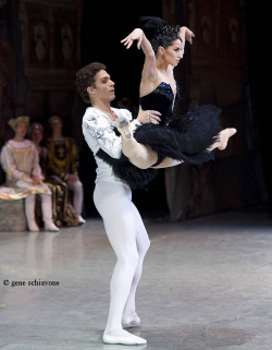 balletish:  National Ballet of Ukraine - Swan Lake photo by Gene Schiavone (c)