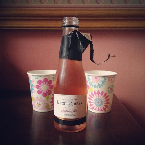 Bubbles. #drink #rose (Taken with Instagram)