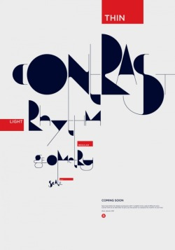 Typography by Áron Jancsó a blend of modernism, street culture and calligraphy.
