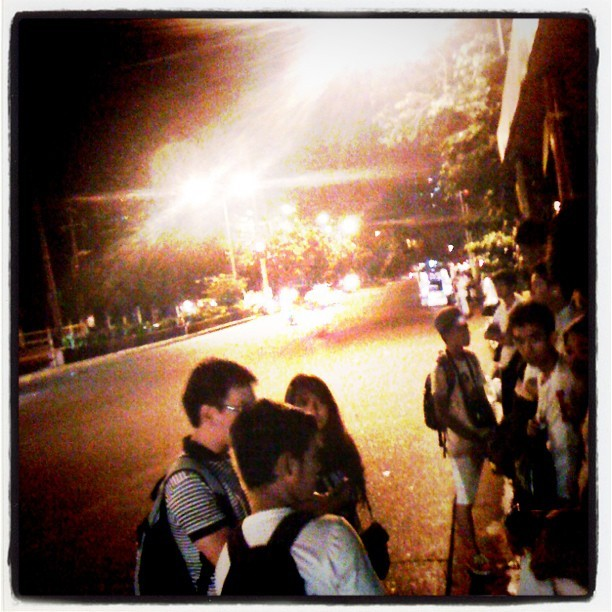 Till midnight #manila #estars (Taken with Instagram)