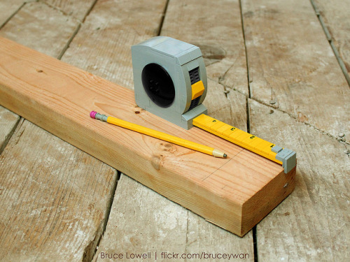 LEGO Tape Measure by bruceywan on Flickr.