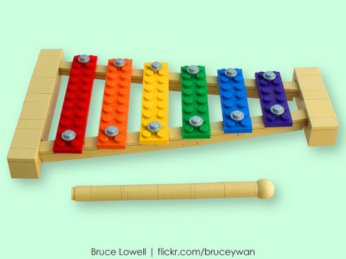 LEGO Xylophone by bruceywan on Flickr.