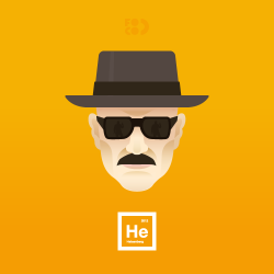 parislemon:  laughingsquid:  Heisenberg  Tonight.