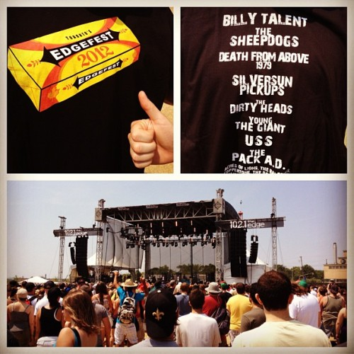#edgefest2012. Damn it's hot. Love it !!! (Taken with Instagram at Edgefest)