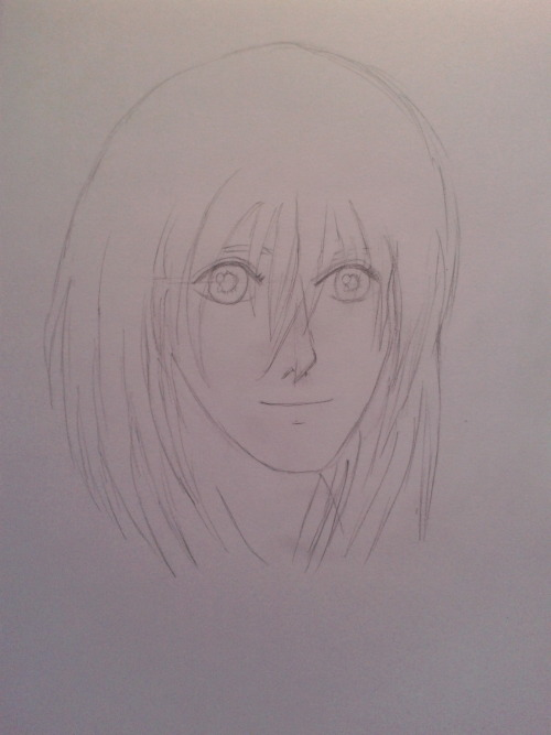 Say hi to Howl. What is his hair anyway… god. What have I drawn XD