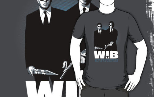 """Winchesters in Black"" T-Shirts & Hoodies by mannypdesign 
